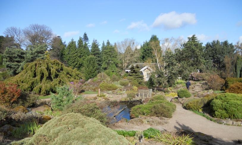 El jard n bot nico de edimburgo uno de los mejores del for Jardin botanico edimburgo