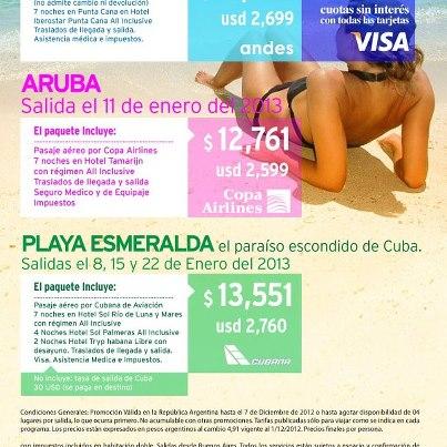 Paquetes Aruba 2013